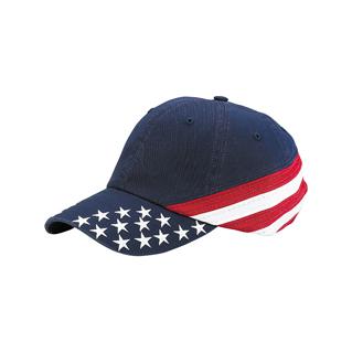 7642A-Low Profile (Uns) Cotton Twill Cap