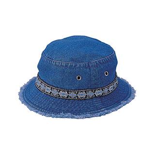 7871Y-Youth Denim Washed Bucket Hat