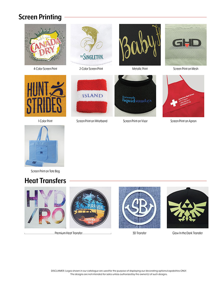Heat Transfers, Screen Print & Rhinestones